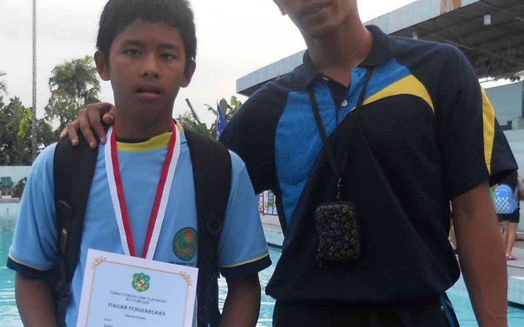 Kejuaraan Renang (O2SN) Sekota Medan Tahun 2012