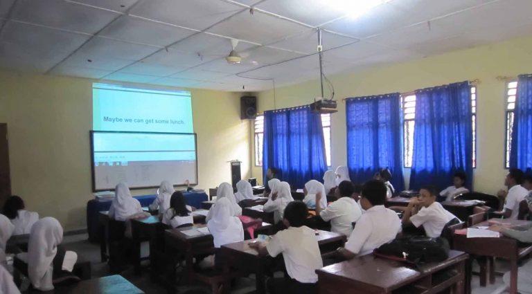 Ruangan Multimedia SMP Dharma Pancasila Medan