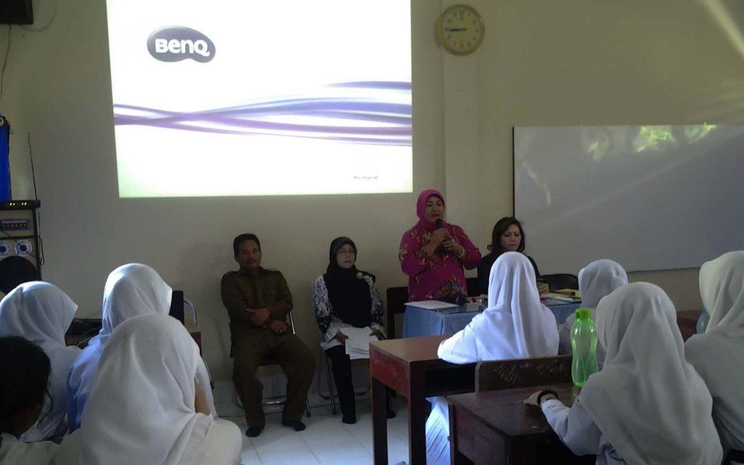 SMP Dharma Pancasila Medan Melaksanakan Pelatihan Dokter Remaja Sebanyak 65 Siswa/I